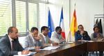 Membres de la délégation de fonctionnaires éthiopiens